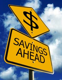 savings ahead